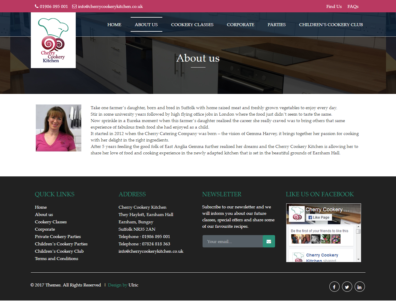Cherry Cookery Kitchen   Web Design Norfolk   Website Designers In Norfolk  And Suffolk Part 35